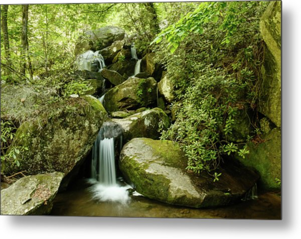 South Mountains Rest Stop Metal Print