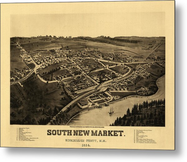 South-new-market, Rockingham County, N.h. Metal Print