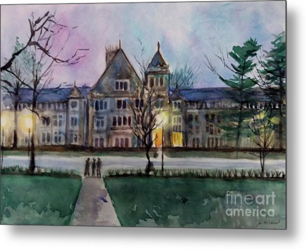 South University Avenue 2 Metal Print