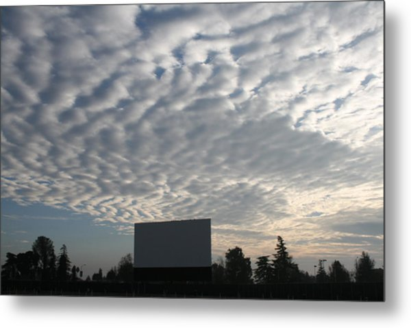Southern California Drive-in Metal Print