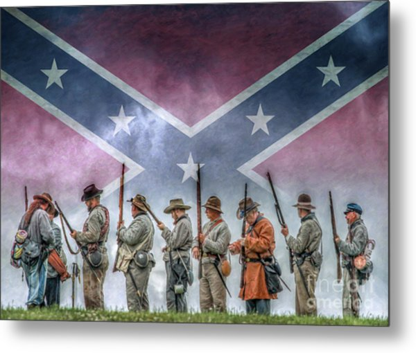 Southern Heritage Southern Pride Metal Print