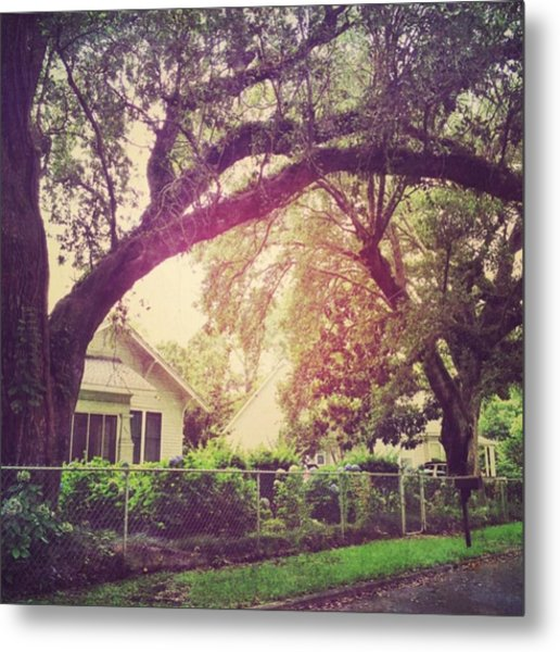 Southern Home #house  #coastalbeauty Metal Print