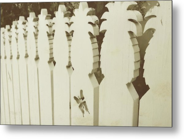 Southern Welcome Metal Print by JAMART Photography