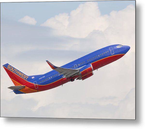 Southwest Jet Metal Print