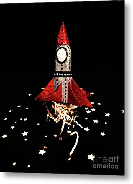 Space Craft Metal Print