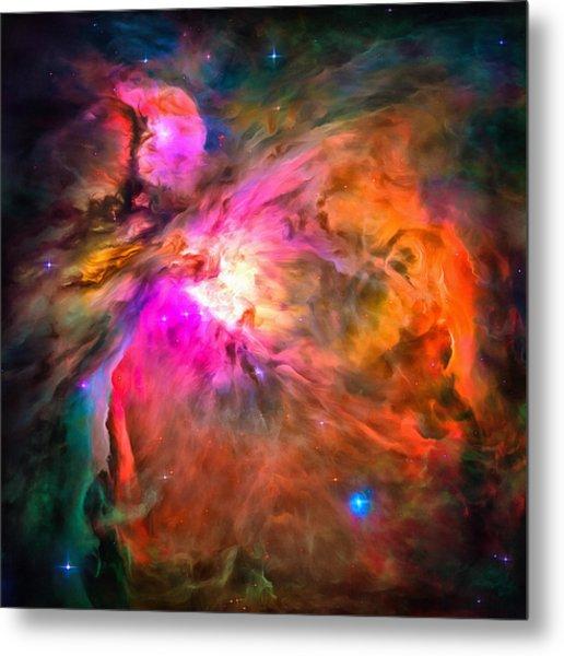 Space Image Orion Nebula Metal Print