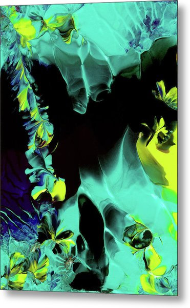 Space Vines Metal Print