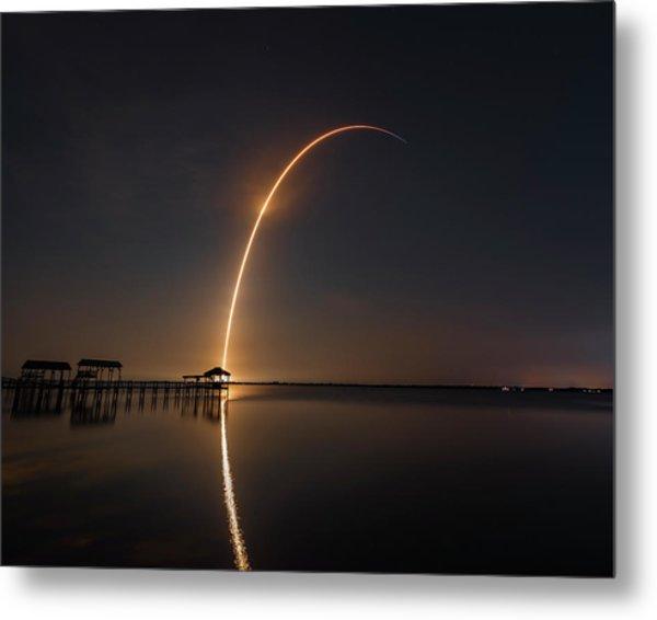 Spacex Falcon 9 Metal Print