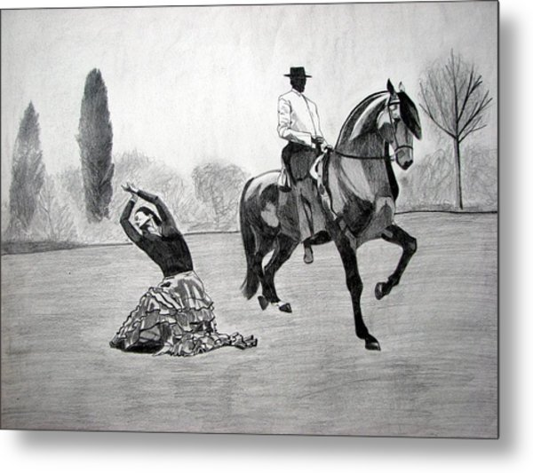 Spanish Dance Metal Print