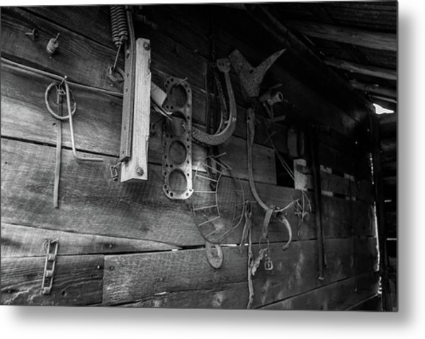 Metal Print featuring the photograph Spare Parts by Doug Camara