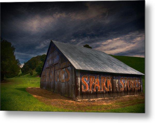 Spark Stoves Barn Metal Print