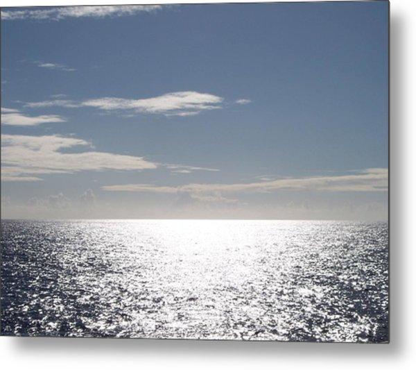 Sparkling Ocean Metal Print