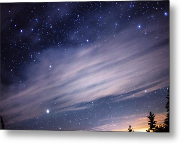 Metal Print featuring the photograph Sparkling Sky  by Jessica Tabora