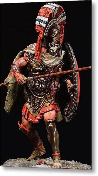Spartan Hoplite - 05 Metal Print