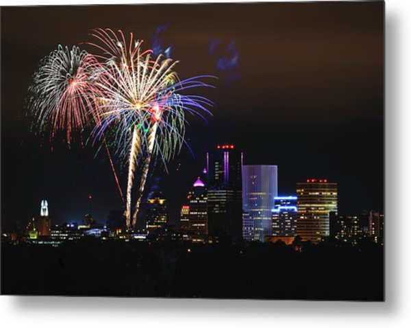 Spectacular Celebration Metal Print