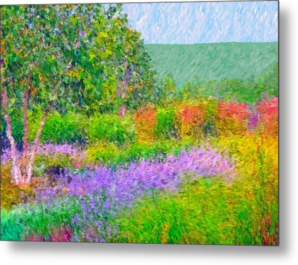 Metal Print featuring the digital art Spectacular May At The Stonewall Resort by Digital Photographic Arts