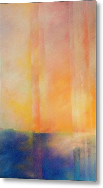 Spectral Sunset Metal Print