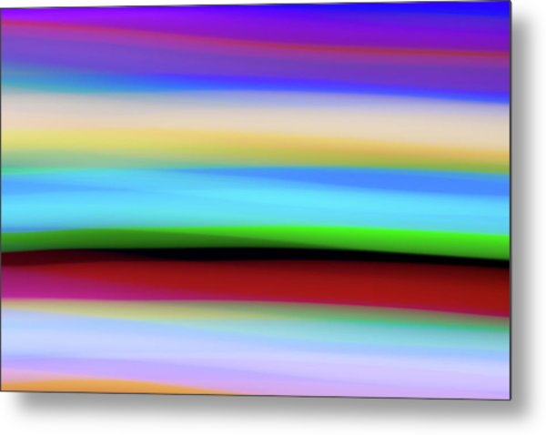 Speed Of Lights Metal Print