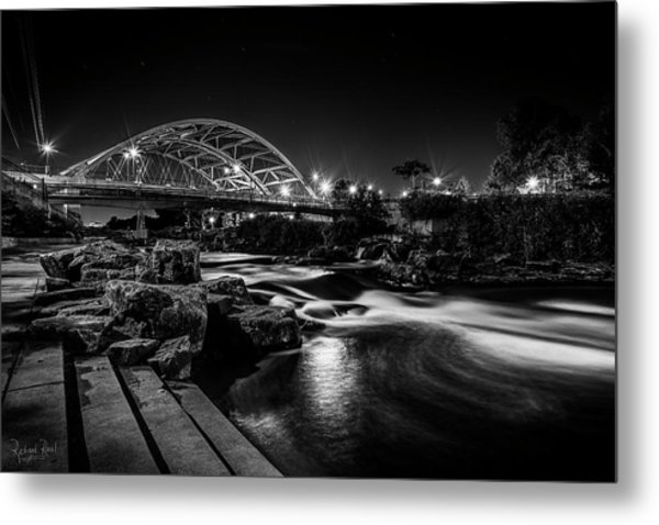 Speer Blvd. Bridge Metal Print by Richard Raul Photography