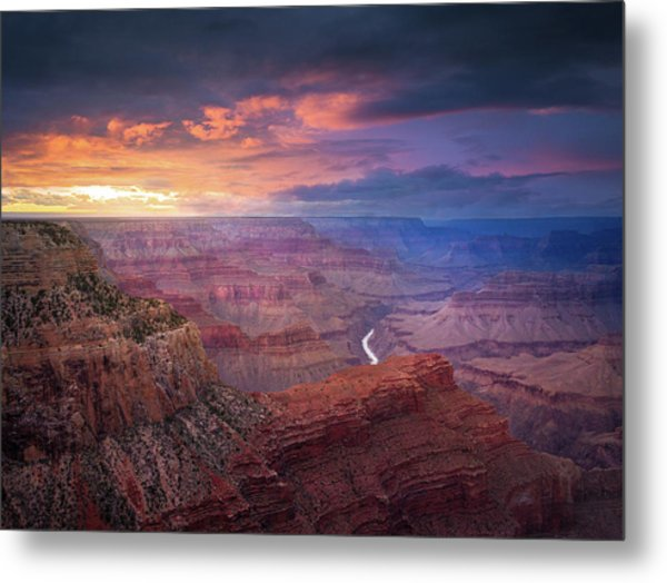 Spendid Light // Grand Canyon National Park  Metal Print