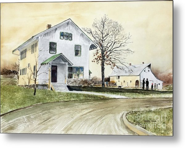 Sperry Homestead Metal Print