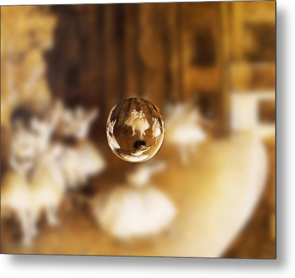 Sphere 15 Degas Metal Print