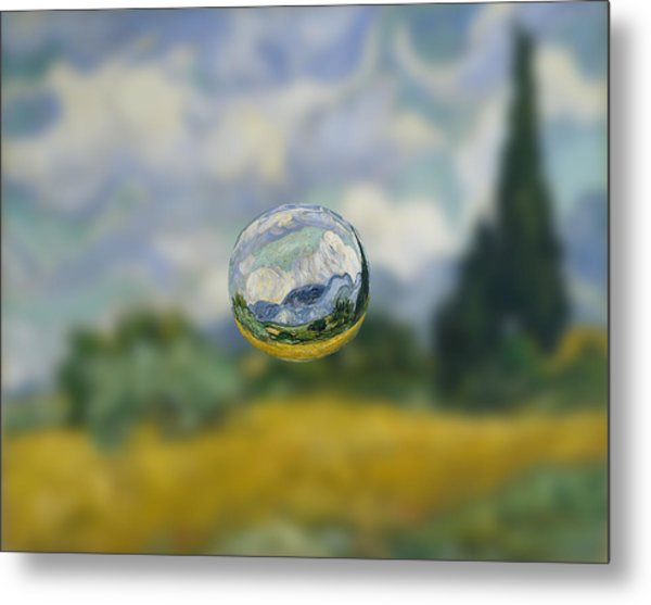 Sphere 7 Van Gogh Metal Print
