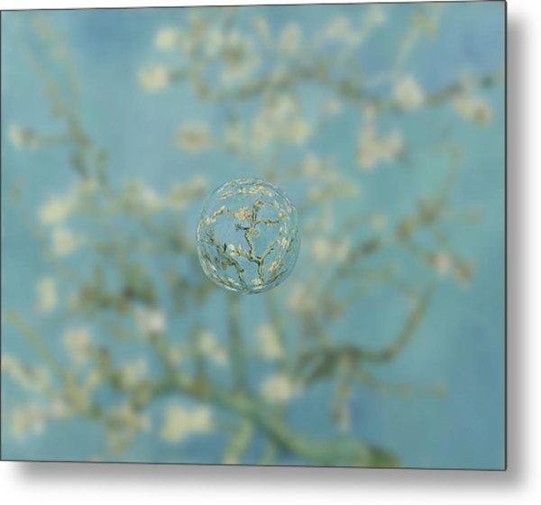Sphere Ill Van Gogh Metal Print