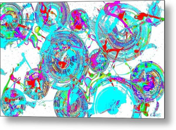 Spheres Series 1511.021413invfddfs-sc-2 Metal Print