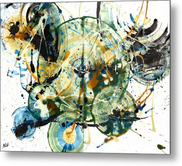 Spherical Joy Series 170.171.011011 Metal Print