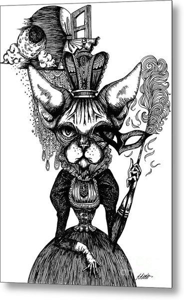 Sphynx Queen Metal Print
