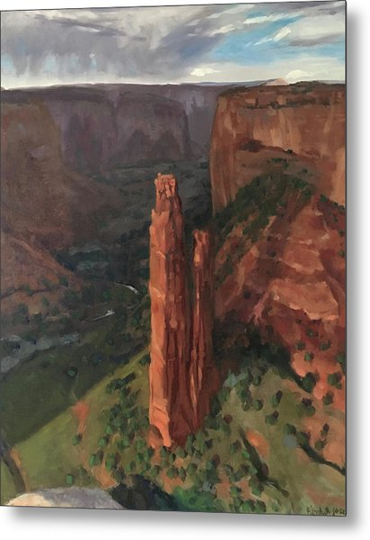 Spider Rock, Canyon De Chelly Metal Print