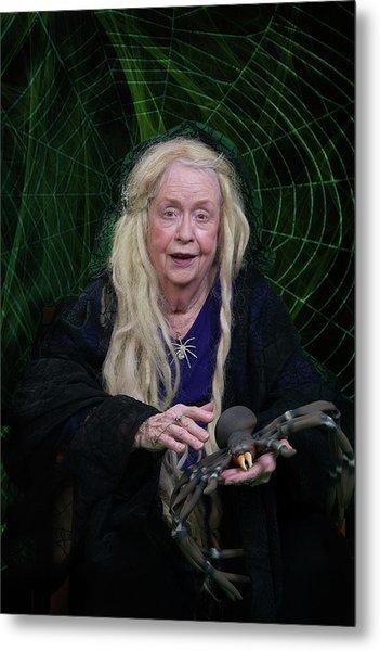 Spider Woman Metal Print