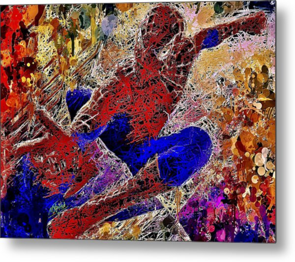 Spiderman 2 Metal Print