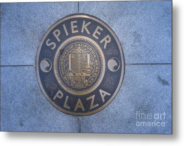 Spieker Plaza Monument At University Of California Berkeley Dsc6305 Metal Print