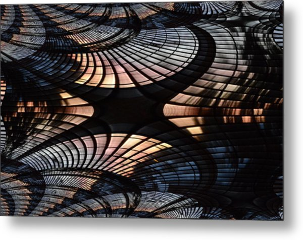 Spin Cycle Metal Print