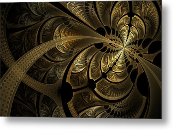 Spinning Splits Metal Print