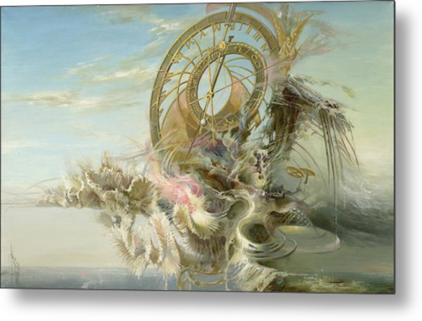 Spiral Of Time Metal Print