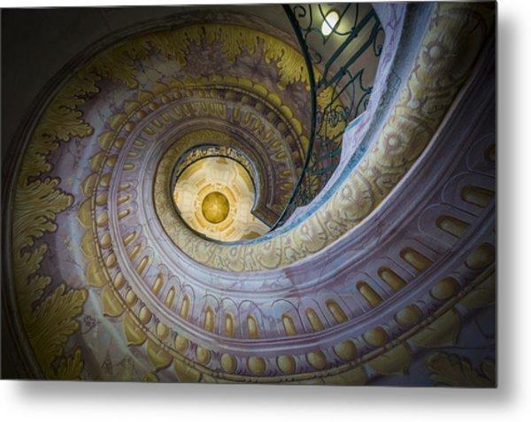 Spiral Staircase Melk Abbey I Metal Print