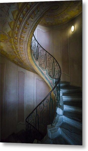 Spiral Staircase Melk Abbey II Metal Print