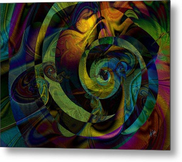 Spiralicious Metal Print