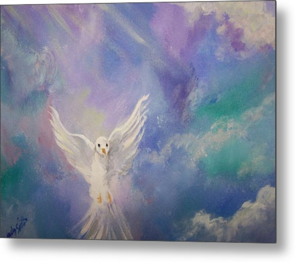 Spirit Come Metal Print by Wendy Smith