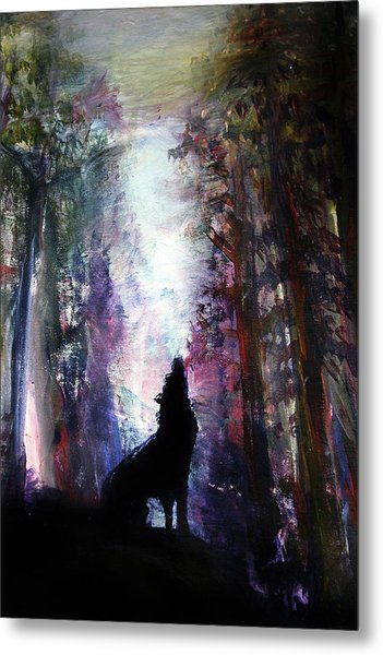 Spirit Guide Metal Print