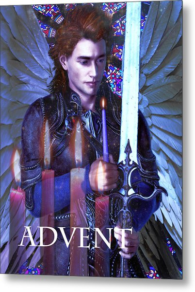 Spirit Of Advent Metal Print