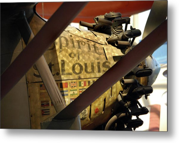 Spirit Of St Louis At Smithsonian Metal Print