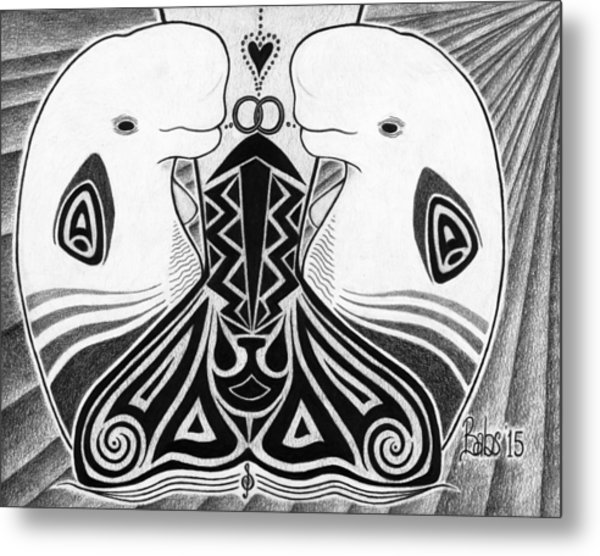 Spirit Of The Arctic Metal Print