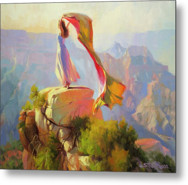 Spirit Of The Canyon Metal Print