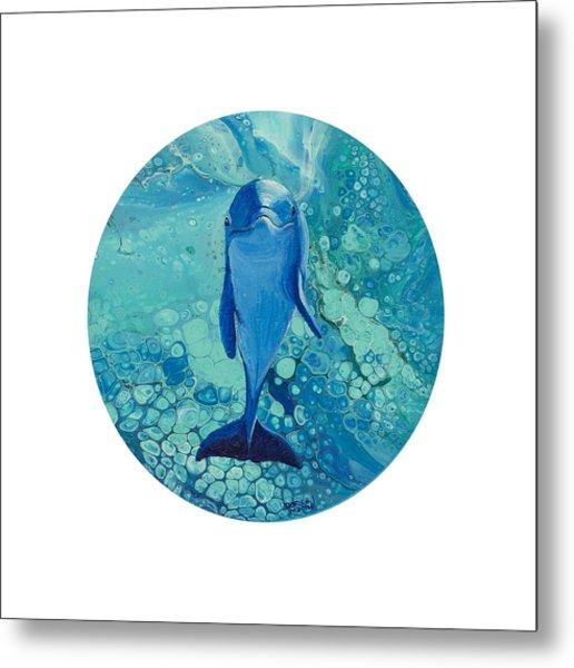 Metal Print featuring the painting Spirit Of The Ocean by Darice Machel McGuire
