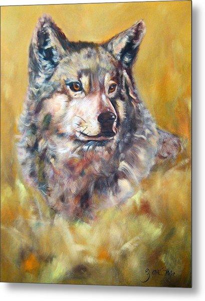 Spirit Of Wolf Metal Print
