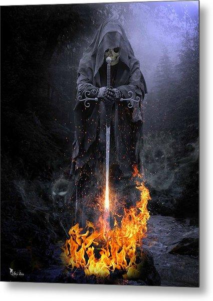 Spirits Released Metal Print